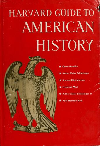 Download Harvard guide to American history