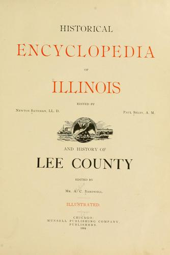 Download Historical encyclopedia of Illinois
