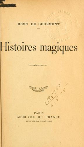Histoires magiques.