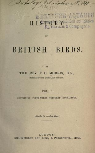 Download A history of British birds.