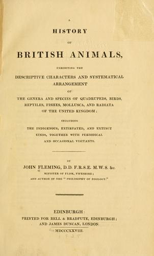 A history of British animals