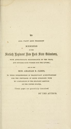 Download History of the Sixtieth Regiment New York State Volunteers