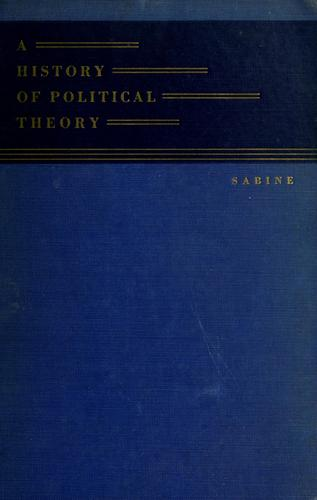 Download A history of political theory