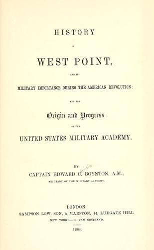 Download History of West Point