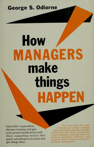 Download How managers make things happen.