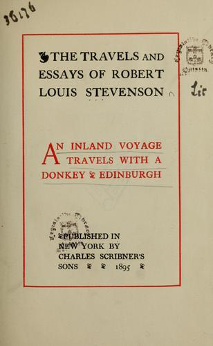 Download An inland voyage. Travels with a donkey. Edinburgh