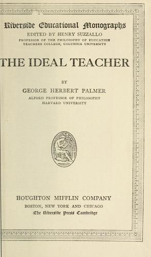 Download The ideal teacher