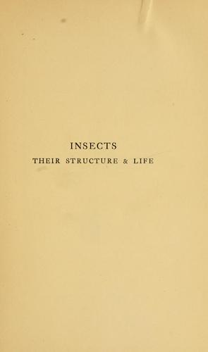 Insects, their structure & life
