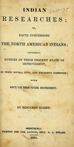 Download Indian researches, or, facts concerning the North American Indians