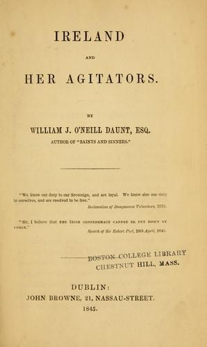 Download Ireland and her agitators.