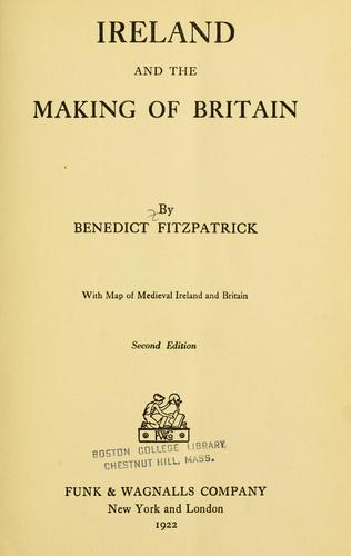 Download Ireland and the making of Britain