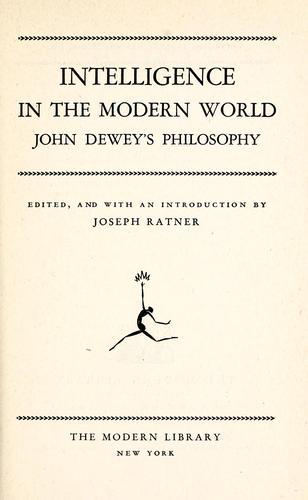 Intelligence in the modern world
