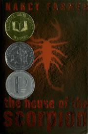 Book Cover: 'The House of the Scorpion' by Farmer, Nancy