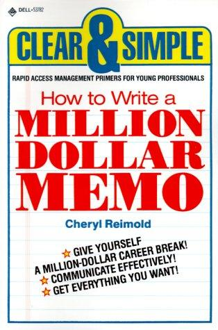 Download How to write a million dollar memo