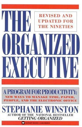 Download The organized executive