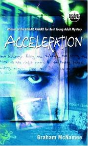 Book Cover: 'Accelleration ' by McNamee, Graham