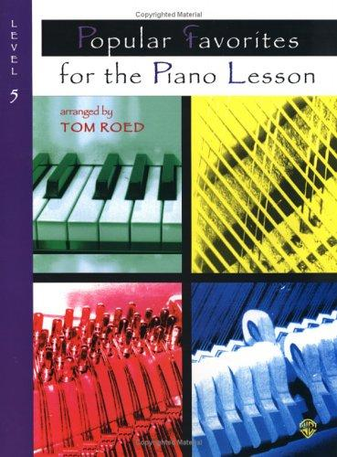 Download Popular Favorites for the Piano Lesson
