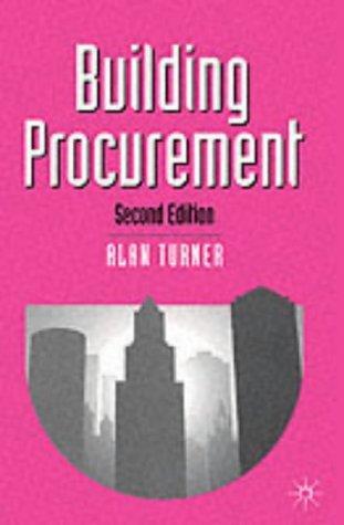 Download Building Procurement (Building & Surveying)