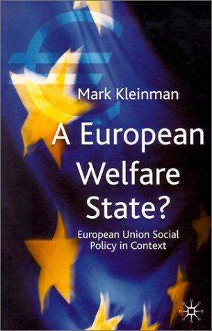 Download A European Welfare State?