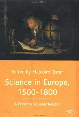 Download Science in Europe, 1500-1800