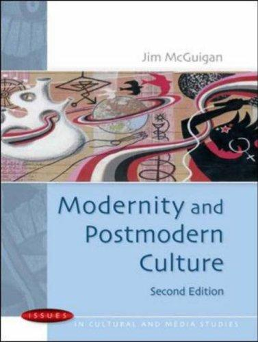 Download Modernity and Postmodern Culture (Issues in Cultural and Media Studies)