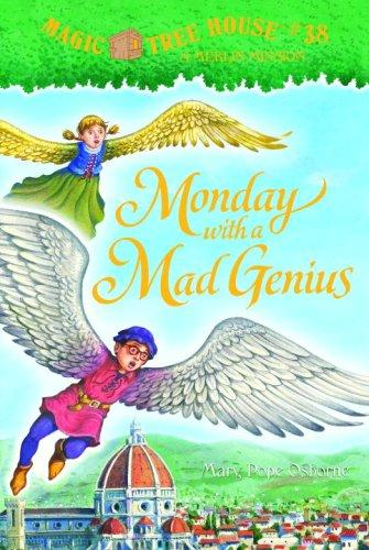 Monday with a Mad Genius (A Stepping Stone Book(TM))