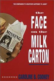 Face on the Milk Carton Cover