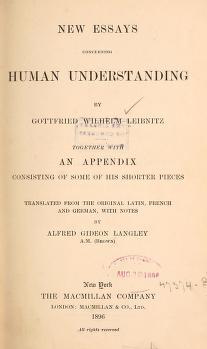 New essay concerning human understanding leibniz top term paper ghostwriters websites