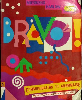 Cover of: Bravo! | Judith A. Muyskens