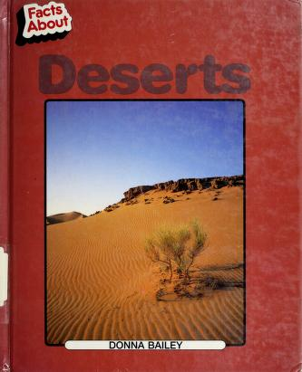 Cover of: Deserts | Donna Bailey