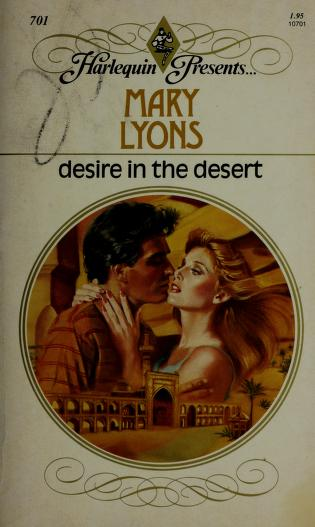 Cover of: Desire in the Desert | Mary Lyons
