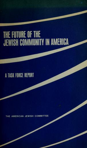 Cover of: The Future of the Jewish community in America | David Sidorsky