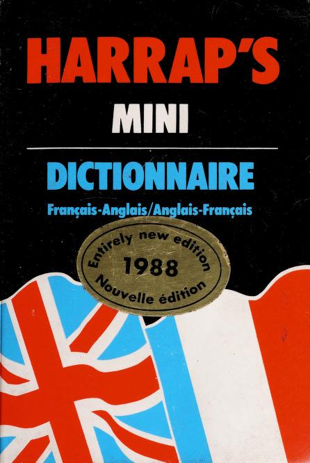 Harrap's Mini French-English Dictionary by Michael Janes