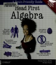 Cover of: Head first algebra | Tracey Pilone