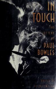 Cover of: In touch | Paul Bowles