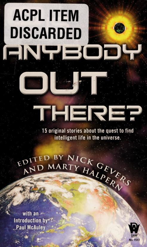 Is anybody out there? by Copyright Paperback Collection (Library of Congress)