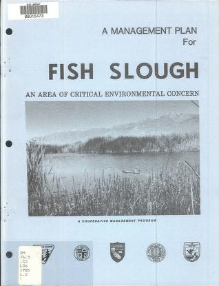 Management plan for Fish Slough, an area of critical environmental concern by United States. Bureau of Land Management. Bishop Resource Area