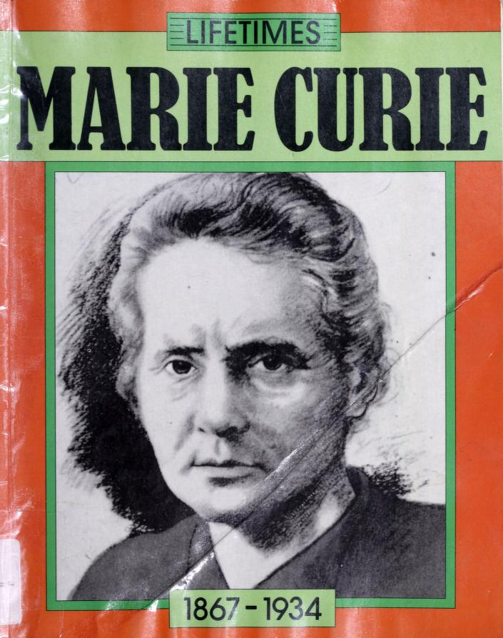Marie Curie by Richard Tames