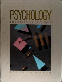 Cover of: Psychology | Robert A. Baron