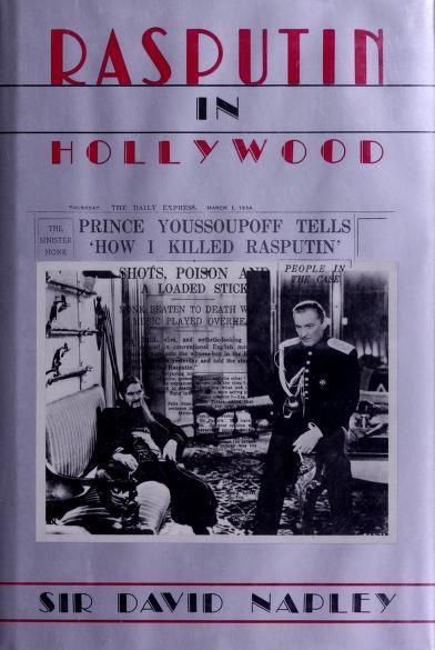 Rasputin in Hollywood by Napley, David Sir
