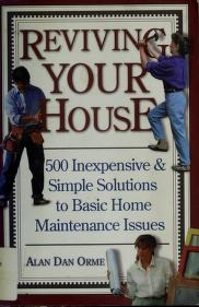 Cover of: Reviving your house | Alan Dan Orme