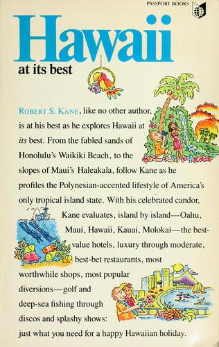 Hawaii at its best by Robert S. Kane