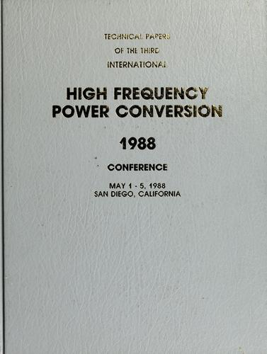High frequency power conversion by