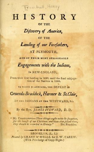 History of the discovery of America