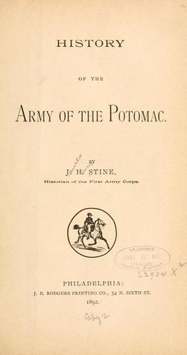 A History of the Army of the Potomac.