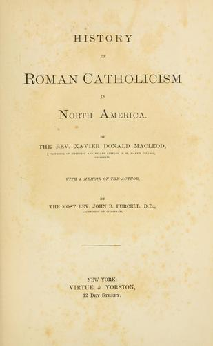 History of Roman Catholicism in North America