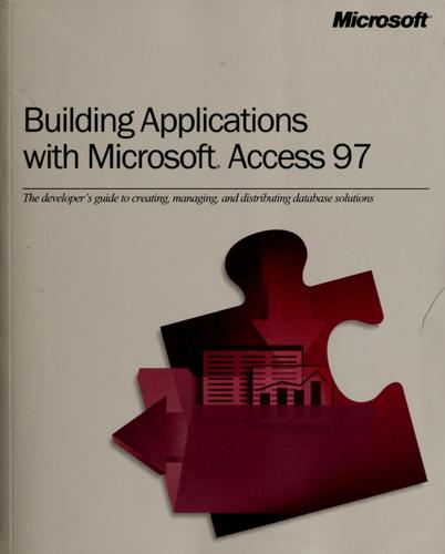 Building applications with Microsoft Access 97 by