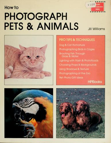 How to photograph pets & animals by Jill Williams