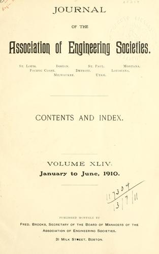 Journal by Association of Engineering Societies