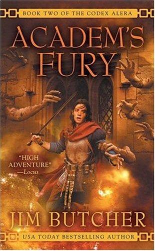 Academ's Fury (Codex Alera) by Jim Butcher
